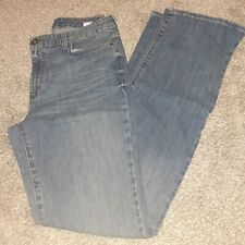 New Eddie Bauer Women's Size 10 Tall Natural Wash Bootcut Jeans Denim Blue Pants