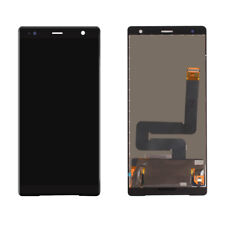 Black For Sony Xperia XZ2 H8216 LCD Touch Screen Digitizer Assembly Replacement
