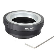 M42-NX screw mount lens to Samsung NX mount camera adapter UK Seller