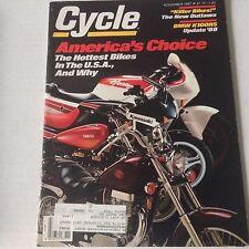 Cycle Magazine BMW K100RS Kawsaki Yamaha November 1987 061717nonrh2
