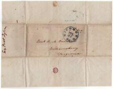 US President John Tyler (1790-1862) – free frank signed