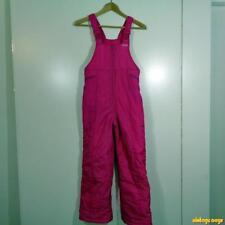 SKI CONTROL Ski Bibs Bib Overalls Girls Size L 14 Pink insulated