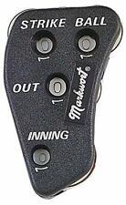 Markwort 4-Dial Black Baseball Umpire Indicator