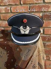 German Air Force Offizer's Peaked Visor Cap Sz = 60