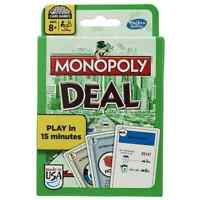 A Monopoly Deal Card Game