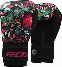 RDX Ladies 10 Oz Boxing Gloves Punch Bag Womens Gym Kick Pads MMA Muay Thai