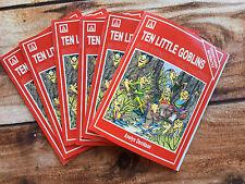 Guided Reading Books For Teachers: Set of 6 Ten Little Goblins Math Rhymes