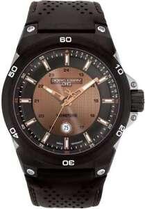 Jorg Gray JG7800-12 Mens Watch Black Dial w/ Black Leather Strap