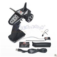 Flysky FS-GT2B 2.4Ghz 3CH Radio Model Transmitter & Receiver For RC Car Boat