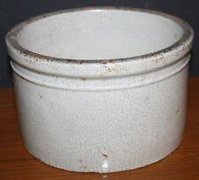 Antique Stone Ware Crock Butter Crock RARE
