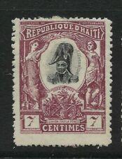 HAITI, 1904, 7 Cent Definitive, Sg 99, Mounted Mint.