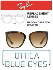 Lenti di Ricambio RAYBAN CATS1000 RB4126 710/51 Replacement Lenses Ray Ban BROWN