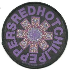 RED HOT CHILI PEPPERS tikki circle 1993 - WOVEN SEW ON PATCH official merch RHCP