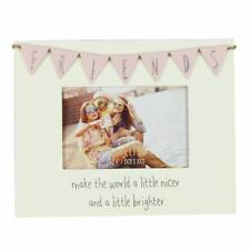 Vintage Wooden Bunting Style Friends Photo Frame Gift Fw557fr