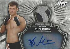 2012 UFC BLOODLINES STIPE MIOCIC AUTO RELIC RC - 148/279 - AUTOGRAPH - MINT!!!