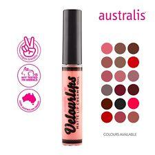 Australis Velourlips Matte Lasting Lip Cream Liquid Lipstick Makeup Cosmetic