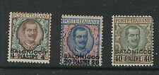 Italy   Salonika   6-8   Mint   catalog  $574.00                    KL0719