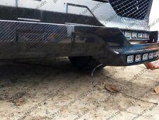 Dokładka Zderzaka LED Mercedes W463 W461Brabus carbon front trim front bumper
