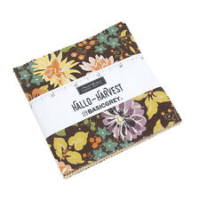 Moda Fabric Hallo Harvest Charm Pack - Patchwork Quilting 5 Inch Squares