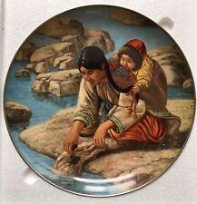 "Kaiser Porcelain Plate Nori Peter ""Anana with little Nutak"""