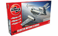 Model vehicles Kit Of Mount aircraft Airfix Gloster Meteor F8 Kit 1:4