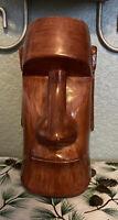 "Vtg Trader Dicks Easter Island Tiki Mug 5.5"" John Ascuaga's Nugget NV Made Japan"