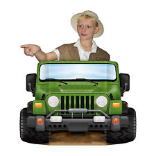 94 Cm Jungla Safari Jeep foto Prop-Animal Adventure Explorer Fiesta Decoración