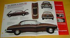 1967 Jaguar Mark X 420G 6 Cylinder 4235cc 3 Carbs IMP info/Specs/photo 15x9