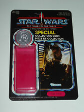 Vintage Star Wars Last 17 Custom POTF Yak Face Canadian Cardback Kit & Coin
