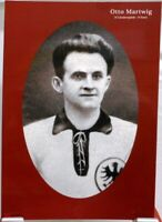 Otto Martwig + Fußball Nationalspieler DFB + Fan Big Card Edition B693