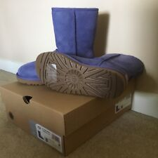 Authentic UGG Ladies Classic Short II Size 8 Violet- New In Box