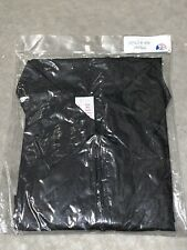 Betty Dain Nylon Barber Jacket Small S Black USA Salon Stylist NEW