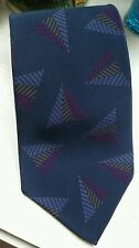 New With Tag YVES SAINT LAURENT (Pour Homme) 100% Silk Crepe Tie (USA) Vintage