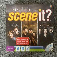 The Twilight Saga - Scene It - DVD Game - Mattel - Complete- Sparkly Vampires