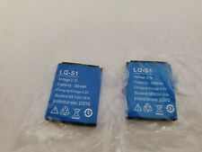 2 NEW GT88  2020 LQ-S1 3.7V 380mAh Smart Watch Rechargeable Li-ion Battery R29