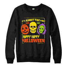 Welcome To The Creepshow Jumper,Happy Halloween Spooky Characters Scary Gift Top