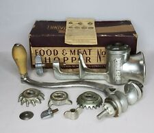 Universal Food & Meat Chopper No. 1 With Box Grinder Food Prepper