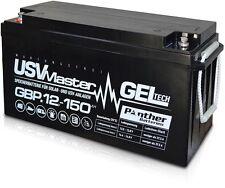 Panther USV Master GEL 12V 150Ah Gelakku Bleigel Versorgerbatterie Solarbatterie