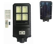 LAMPIONE STRADALE CON TELECOMANDO LED 60 W PANNELLO SOLARE FOTOVOLTAICO 280 LED
