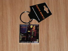 DAVID BOWIE - ZIGGY STARDUST  METAL KEYRING (NEW) OFFICIAL BAND MERCH