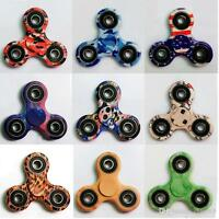 FIDGET SPINNER CAMOUFLAGE ANTI STRESS JEU ROULEMENT HAND FIDGET EDC ADHD