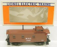 Lionel 6-17600 New York Central Woodside Illuminated Caboose LN/Box