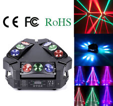 Lixada 120W 9LED RGBW DMX512 Spider Stage Lighting Moving Head Party Light W9N1