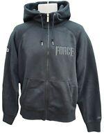 NEW Vintage NIKE Sportswear NSW FORCE 89 Mens Hoodie Jacket Black M
