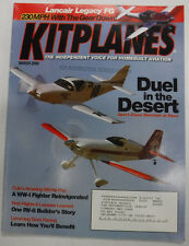 Kitplanes Magazine Duel In The Dessert March 2005 072215R
