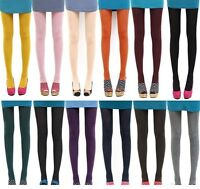 Fashion Autumn Women Opaque Foot Tights Velvet Pantyhose Slim Stretchy Stockings