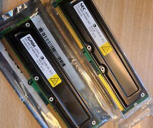1GB Elpida MC-4R512FKE8D-845 (2x 512MB) 184pin 800MHz RAMBUS RDRAM RIMM ECC