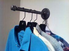 "Clothing Hanger Hook 10"" Pipe Hook Industrial Hanger Garment Hook Retail Fixture"