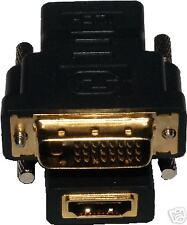 HDMI/DVI to DVI/HDMI Converter (HDMI Female, DVI Male)