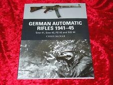 German Automatic Rifles, 1941-1945 Book-GEW 41, GEW 43, FG 42, & StG 44-NEW